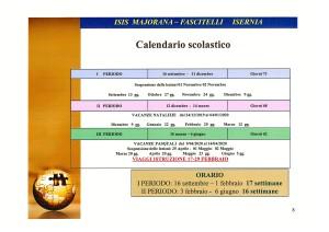 Calendario Scolastico a.s. 2019-2020
