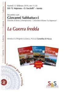 Sabbatucci 12_02_19 Isernia Majorana locandina